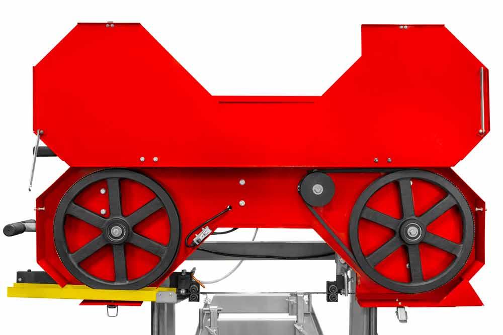 Kmenová pásová pila na dřevo - katr Holzmann BBS350-3