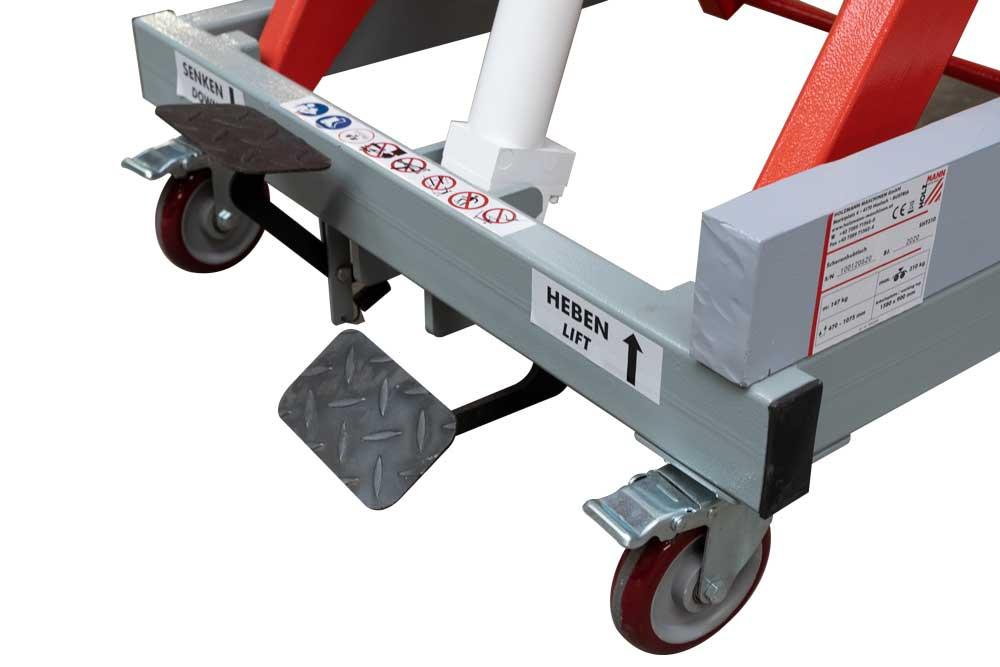 Hydraulický zvedací stůl Holzmann SHT310-4