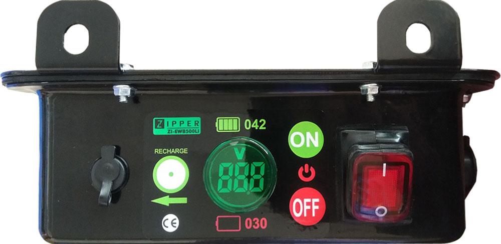 Elektrické motorové kolečko Zipper ZI-EWB500LI-2