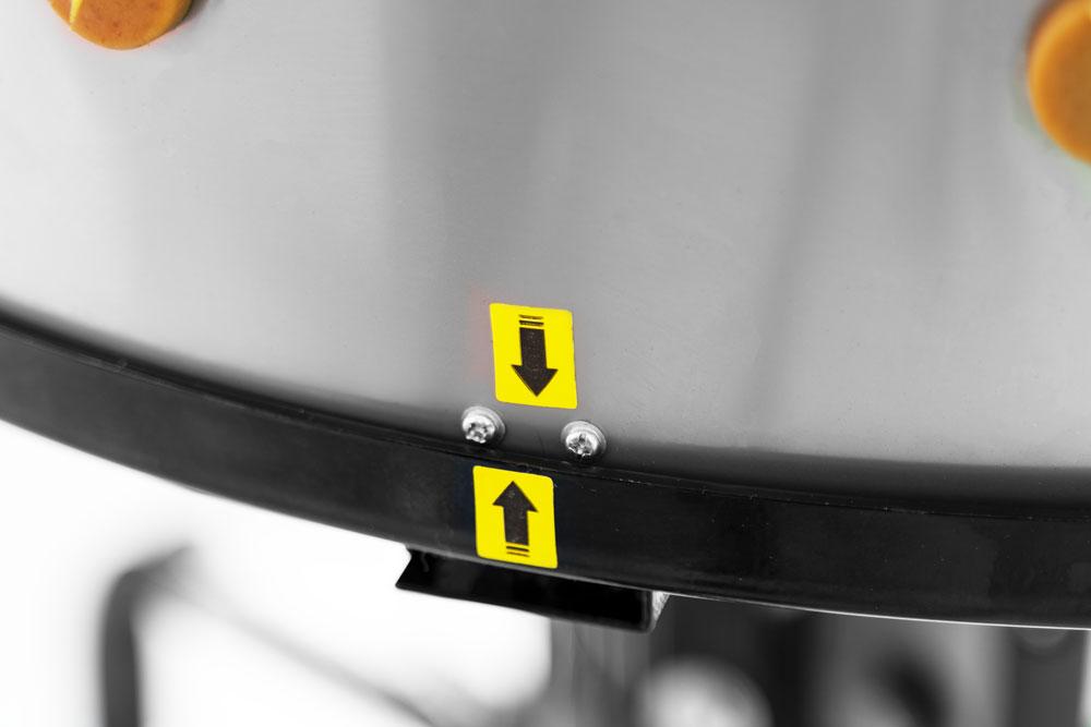 Stroj na škubání drůbeže Zipper ZI-GRM1650-2